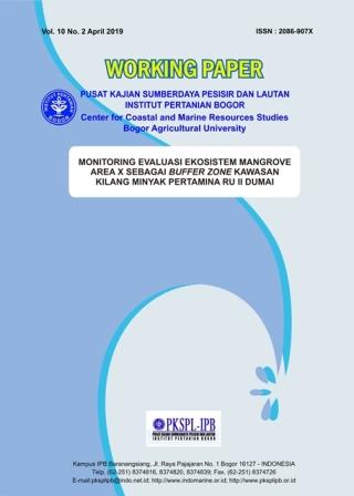Monitoring Evaluasi Kawasan Hutan Mangrove sebagai Buffer Zone di Area Kilang Minyak Pertamina RU II