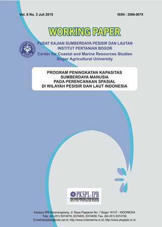 Program Peningkatan Kapasitas Sumberdaya Manusia Pada Perencanaan Spasial di Wilayah Pesisir dan Lau