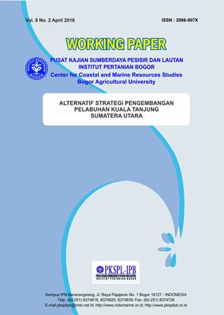 Alternatif Strategi Pengembangan Pelabuhan  Kuala Tanjung – Sumatera Utara