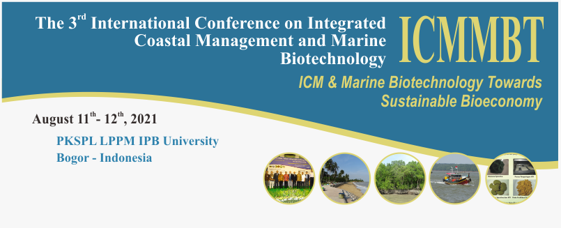 The 3rd International Conference on Integrated Coastal Management and Marine Biotechnology
