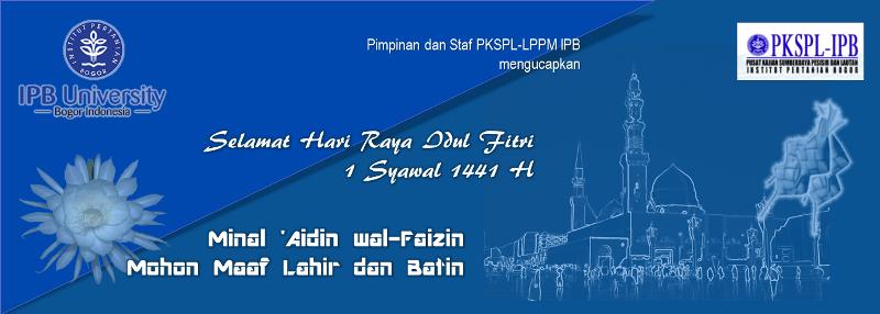 PKSPL-LPPM IPB Mengucapkan Selamat Hari Raya Idul Fitri
