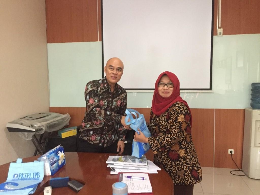 PKSPL IPB melakukan kegiatan audiensi ke Balai Taman Nasional Kepulauan Seribu di Jakarta Pusat