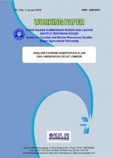 Analisis Ekonomi Sumberdaya Alam dan Lingkungan Selat Lombok
