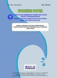 Model Sebaran TSS dari Pembuangan Lumpur Bor di Sekitar Perairan Selat Madura, Jawa Timur