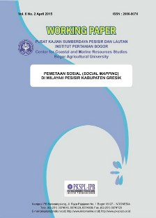 Pemetaan Sosial (Social Mapping) di Wilayah Pesisir Kabupaten Gresik