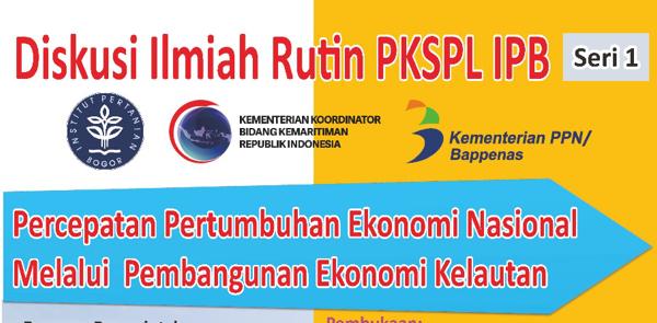 Diskusi Ilmiah Rutin PKSPL-IPB