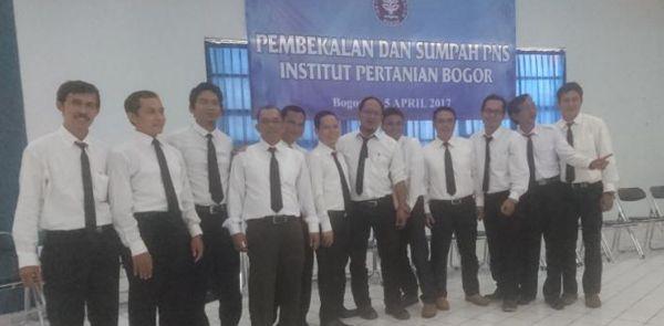 Pelatihan dan Sumpah PNS IPB 2017