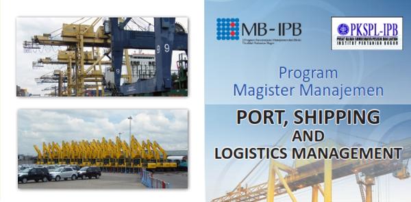 Program Magister Management Port, Shipping and Logistics Management